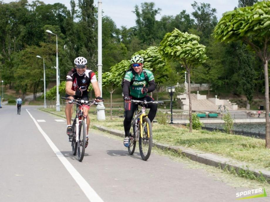 (foto) Pentru evitarea diverselor incidente. În parcul Valea Morilor vor apărea piste pentru bicicliști și alergători