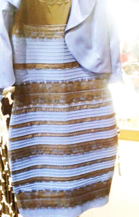 Rochia cu culori incerte