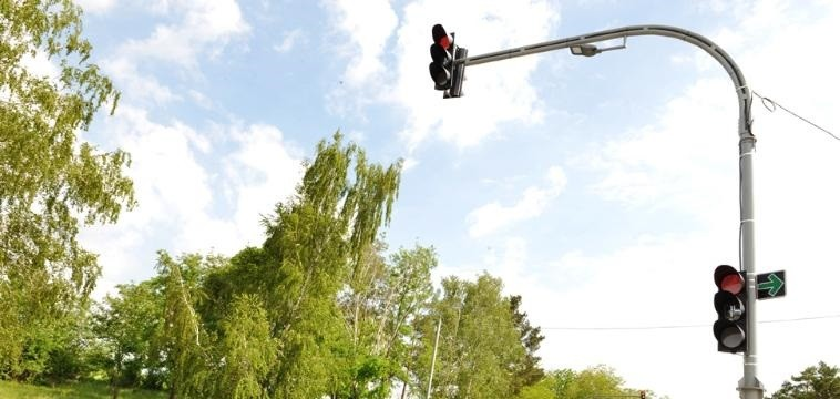 (foto) Un semafor inteligent a fost instalat însectorul Râșcani al Capitalei