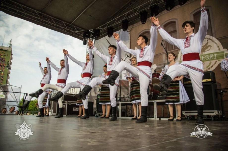 (foto) Dansurile moldovenești au ajuns în Transilvania. Ansamblul VATRA din comuna Tohatin invitat de onoare la un festival din România