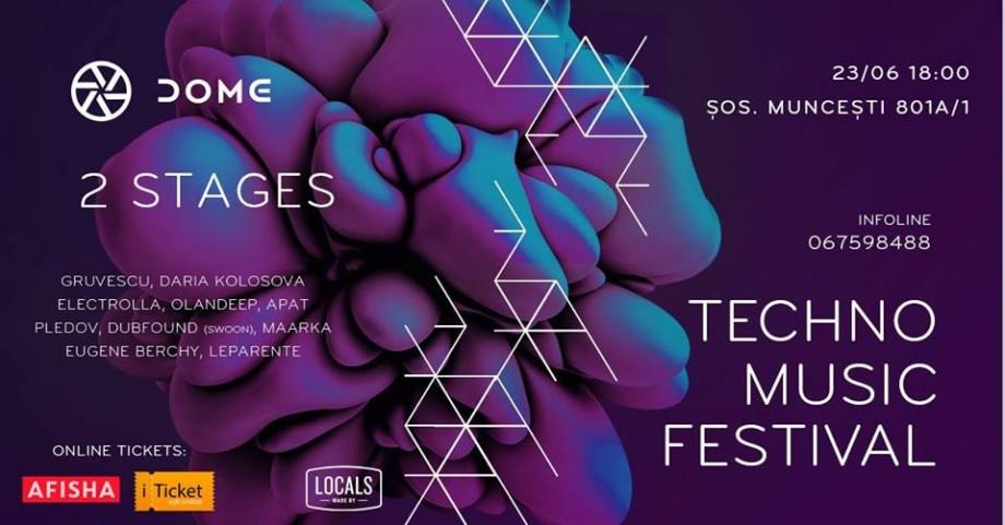 Mai mulți artiști est-europeni, consacrați curentului rave, se reunesc la un festival techno la Chișinău