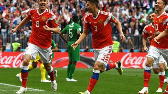 (video) Rusia a învins categoric Arabia Saudită, în meciul de deschidere a Campionatului mondial de fotbal 2018