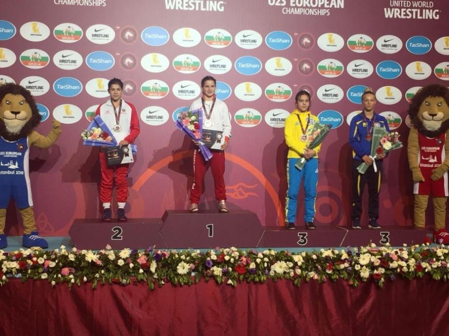 O nouă medalie la Campionatul European Under 23 pentru Anastasia Nichita. Cu cine a luptat sportiva în finală