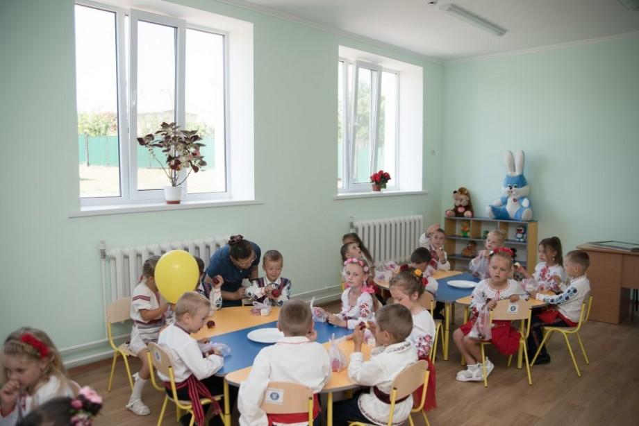 (foto) Unica grădiniță din satul Ciulucani a fost renovată din grantul oferit de Guvernul României.  Proiectul a costat 3 milioane de lei
