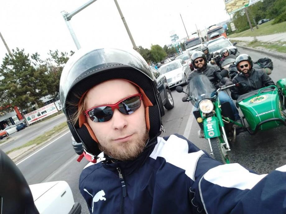 (foto, video) Din Chișinău la Soroca, pe 3 roți. Cum a decurs prima zi a turului pe motociclete URAL