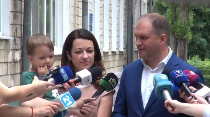 """(video) Ion Ceban și-a exprimat votul: """"Oamenii trebuie să aleagă un viitor primar care nu se va ocupa cu ideologii sau politică"""""""