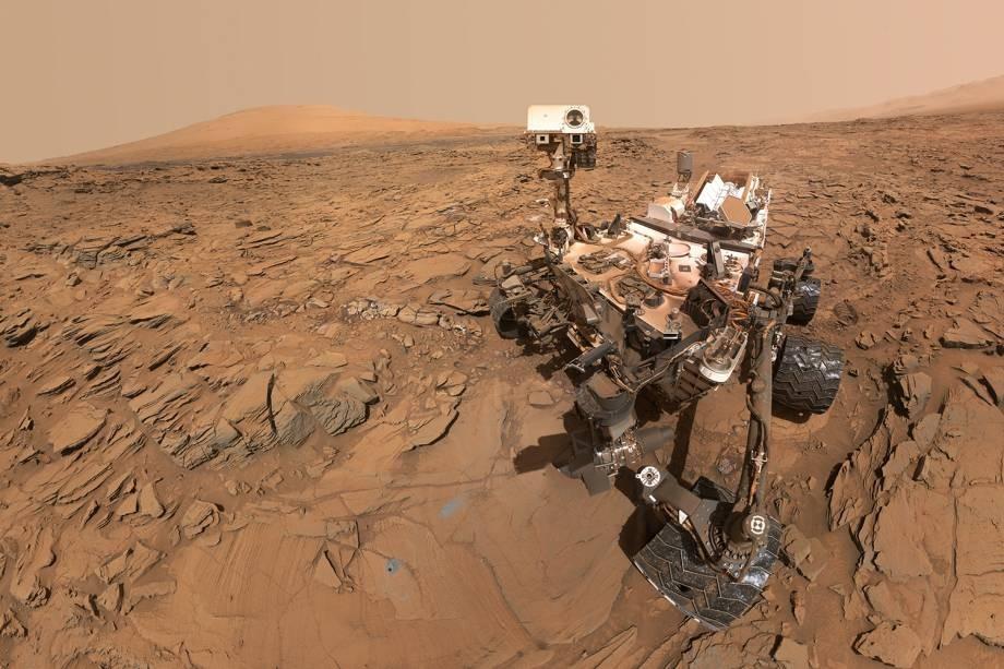 (video) Noi descoperiri făcute de NASA. Pe planeta Roșie au fost găsiți compuşi organici