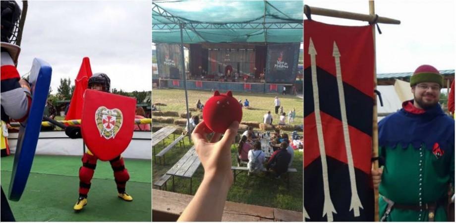 (foto, video) Lupte ca în povești, fireshow și muzică bună. Cum se vede Festivalul Medieval pe rețelele de socializare