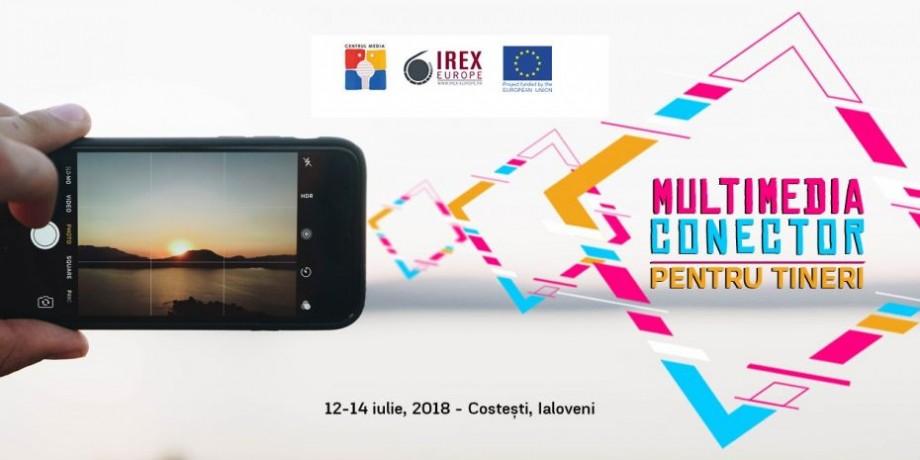 """Ești pasionat/ă de foto, video și vlogging? Participă la tabără de educație media """"Multimedia Conector pentru Tineri"""""""