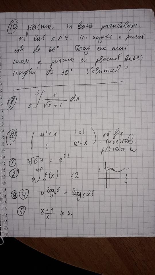 examen matemtica