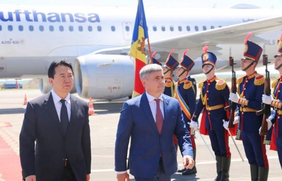 (video) Președintele INTERPOL este într-o vizită oficială în Moldova. Este pentru prima dată când ne vizitează