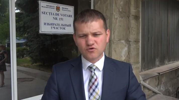 """(video) Valeriu Munteanu și-a exprimat votul: """"Am votat pentru un Chișinău european"""""""