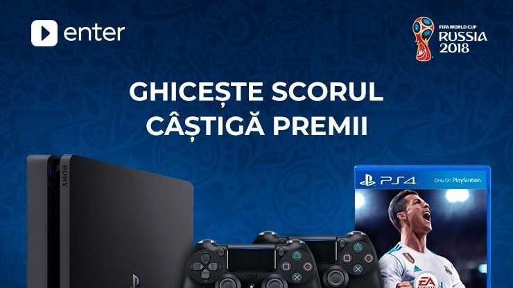Mereu ghicești scorul, nu? Prognozează corect și câștigă un Sony PlayStation 4 Slim!