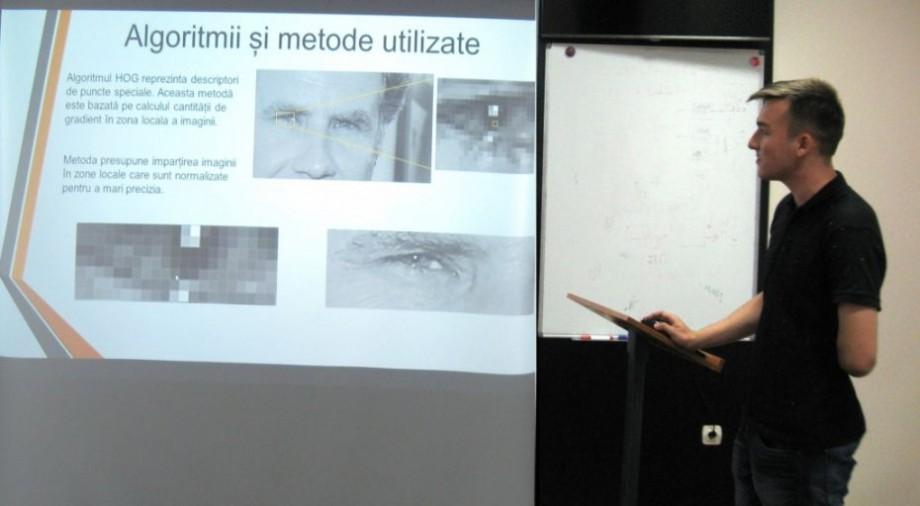 (foto) Un tânăr de la UTM a dezvoltat un sistem electronic de recunoaștere facială. Cum a reușit acest lucru