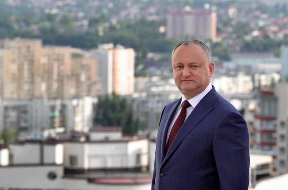 Președintele Dodon, din nou în deplasare. Merge în Turcia pentru a participa la inaugurarea lui Erdogan