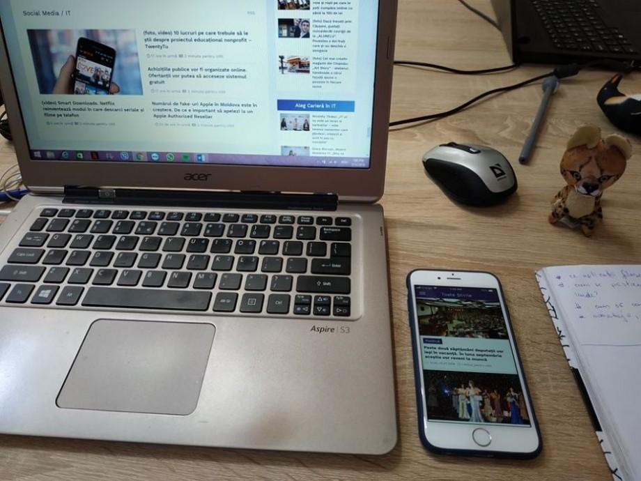 Moldova, printre țările cu cele mai multe aplicații mobile create. Ce loc ocupă țara noastră în clasamentul Indicelui global al inovației