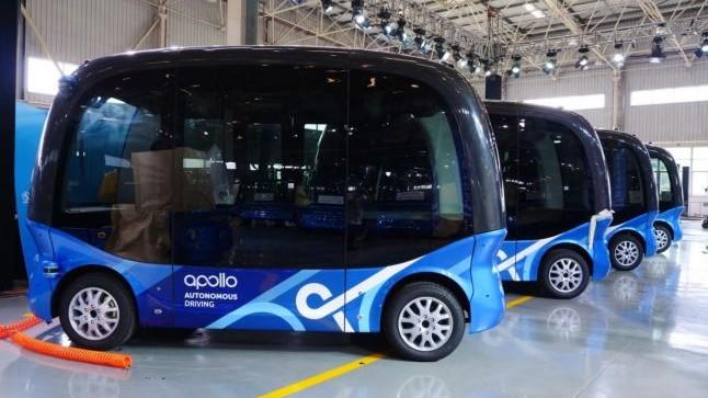 Primele 10 autobuze fără şofer vor circula în Japonia începând cu anul 2019