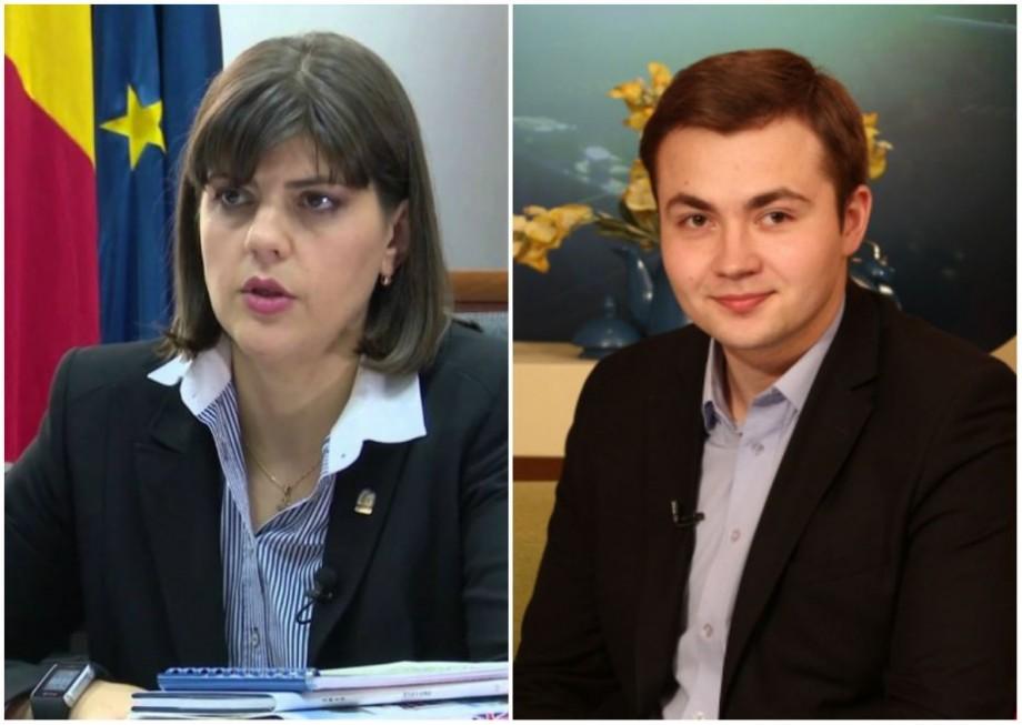 Laura Codruța Kövesi a fost nominalizată de un tânăr din Moldova la un premiu european prestigios