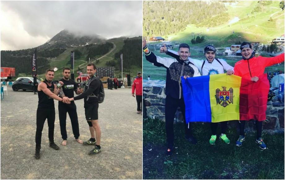 (foto) Au alergat 42 km pentru o cauză nobilă. Cum trei tineri din Moldova promovează voluntariatul în Marea Britanie