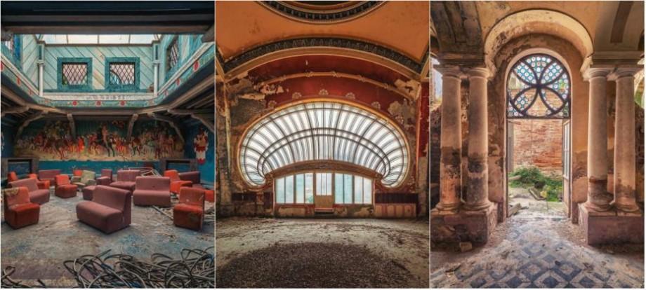 (foto) Un fotograf german călătorește prin Europa pentru a surprinde frumusețea clădirilor abandonate