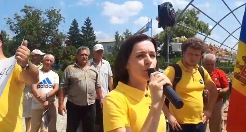 (live video) Protest la Criuleni. Se cere validarea alegerilor locale și anularea sistemului mixt