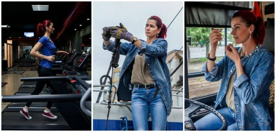 (foto) 24 de ore din viața unei conducătoare de troleibuz surprinse de un fotograf din Chișinău