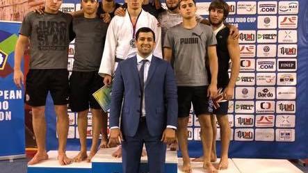 Judocanul Cornel Andrieș aduce acasă medalia de argint de la Junior European Cup de la Praga