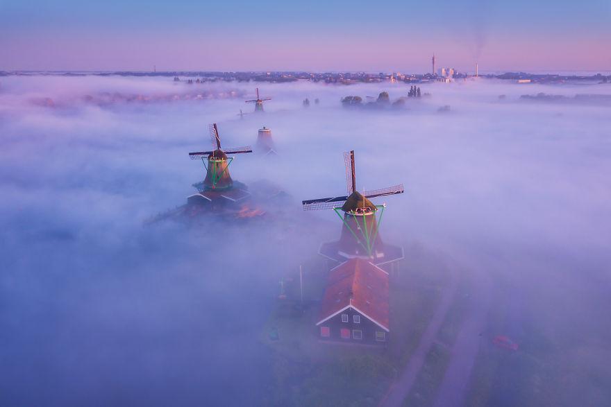 olanda dimineața