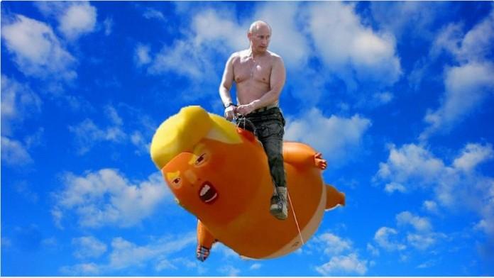 """(foto) Cele mai """"drăgălașe"""" meme-uri după întâlnirea președinților Trump și Putin"""