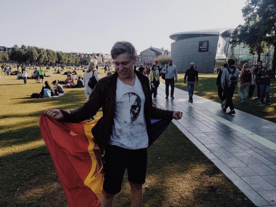 """""""Toate eforturile vor merita"""". Tânărul Valerian Moraru, despre experiența și studiile din Olanda"""
