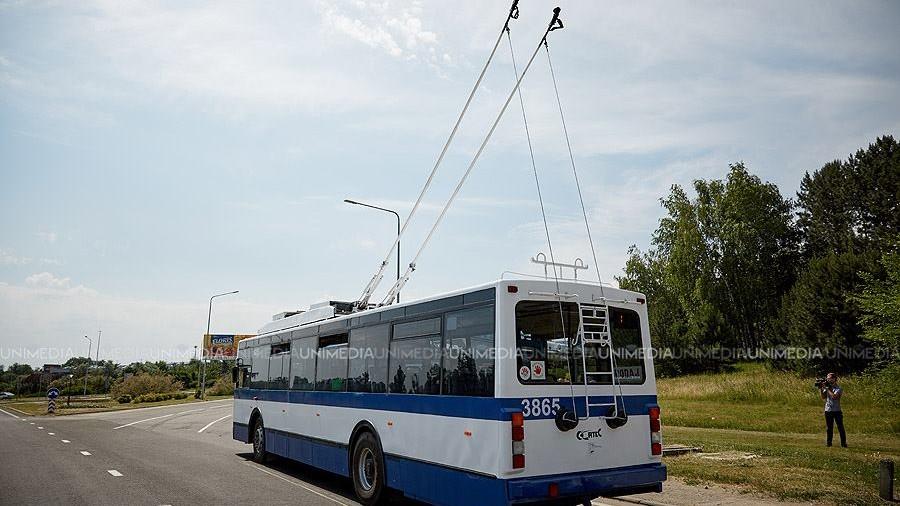 Din septembrie, locuitorii din Stăuceni vor merge la Chișinău cu troleibuzul. Care va fi itinerarul