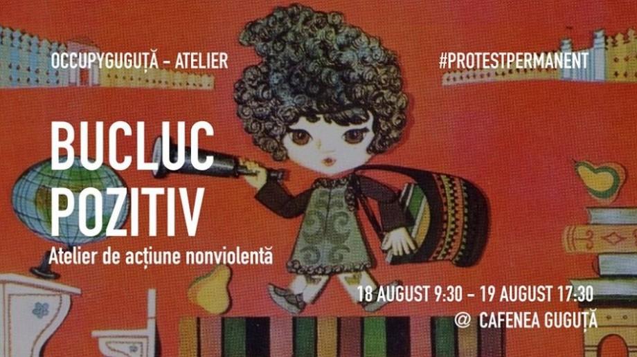 În acest weekend, la Chișinău va avea loc un bucluc pozitiv. Vino să înveți cum să acționezi nonviolent