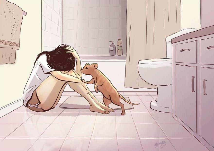 Câine prieten 2