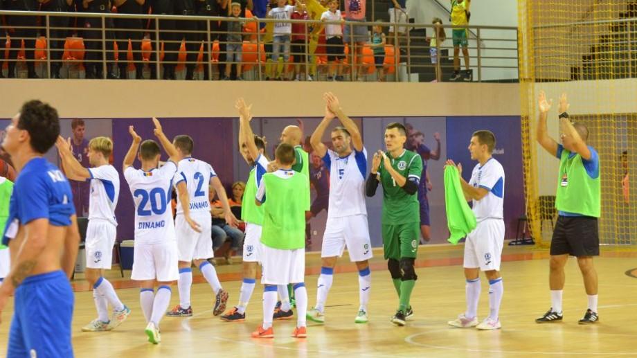 Dinamo Chișinău a câștigat primul meci din cadrul preliminariilor Ligii Campionilor la futsal, ediția 2019