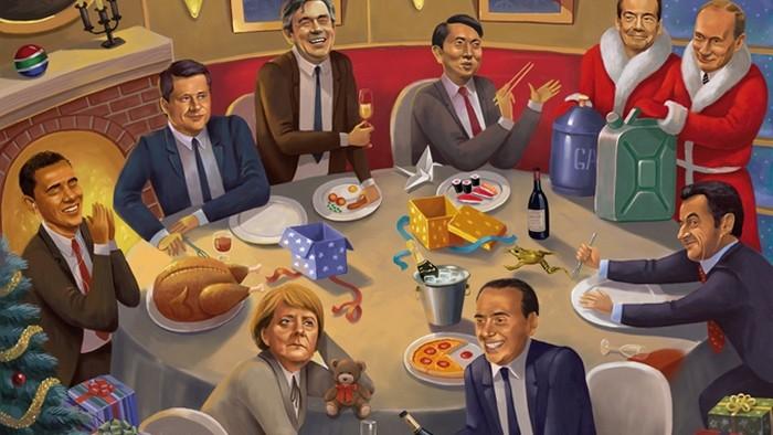 (foto) Un artist rus creează ilustrații satirice pentru a arăta cum au degradat lucrurile în lumea noastră