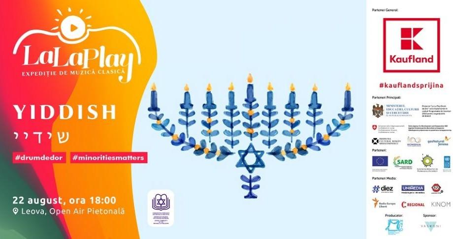 La La Play Yiddish. Expediția de muzică clasică promovează diversitatea interetnică și comunitățile de evrei la Leova