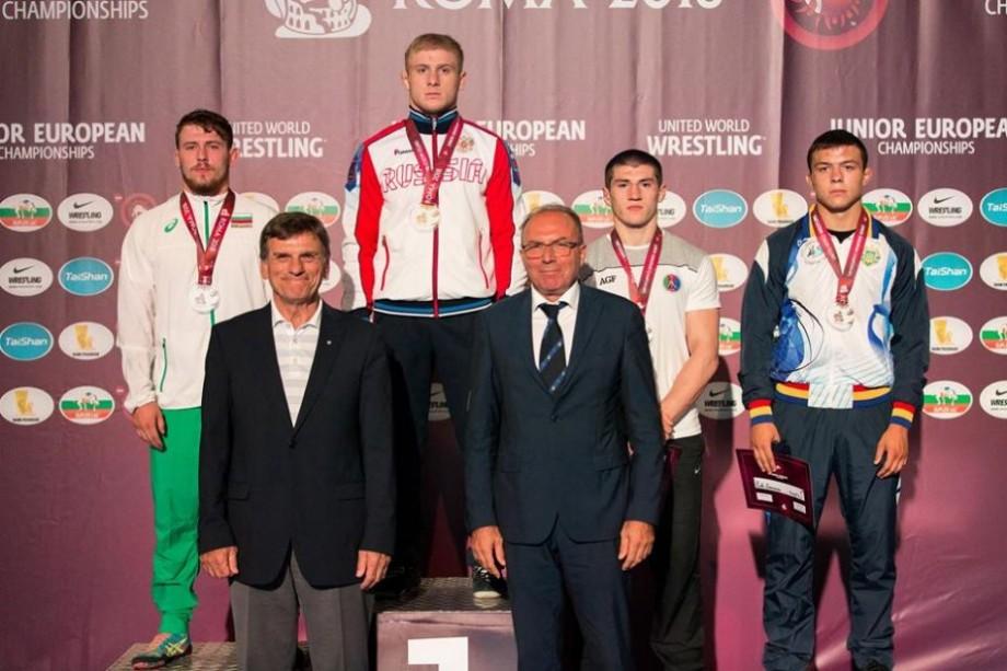 Luptătorul moldovean, Piotr Caraseni, a adus acasă medalia de bronz de la Campionatul European printre tineret