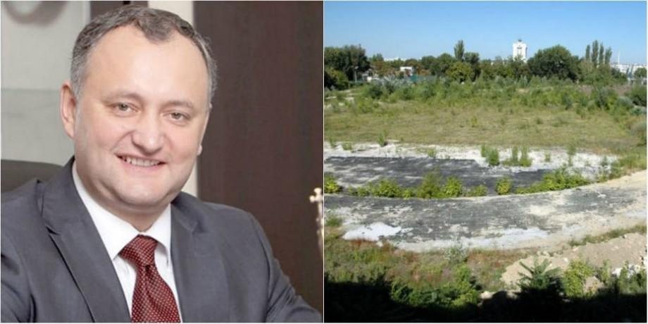 (doc) Igor Dodon a refuzat să promulge legea cu privire la cesiunea Stadionului Republican de către statul SUA