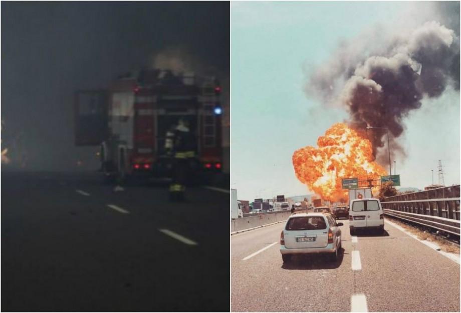 (foto, video) Explozie în apropiere de aeroportul din Bologna. Un om a murit, alţi 70 au fost răniţi, iar o porţiune din autostradă s-a prăbuşit