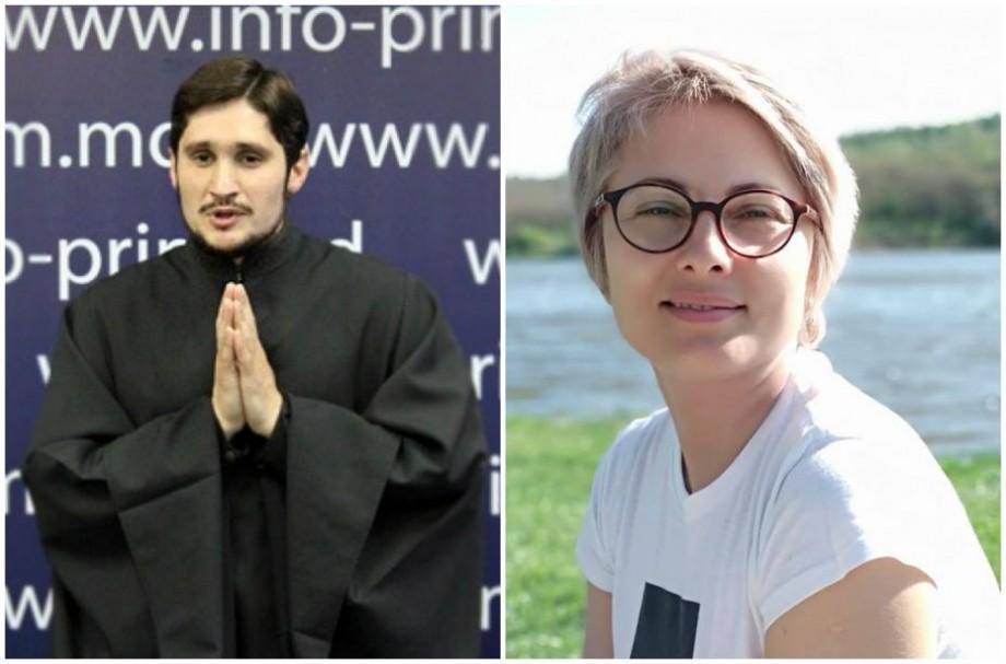 Ghenadie Valuța, obligat de instanța de judecată să ceară scuze publice activistei Angela Frolov pentru că a stropit-o cu agheasmă
