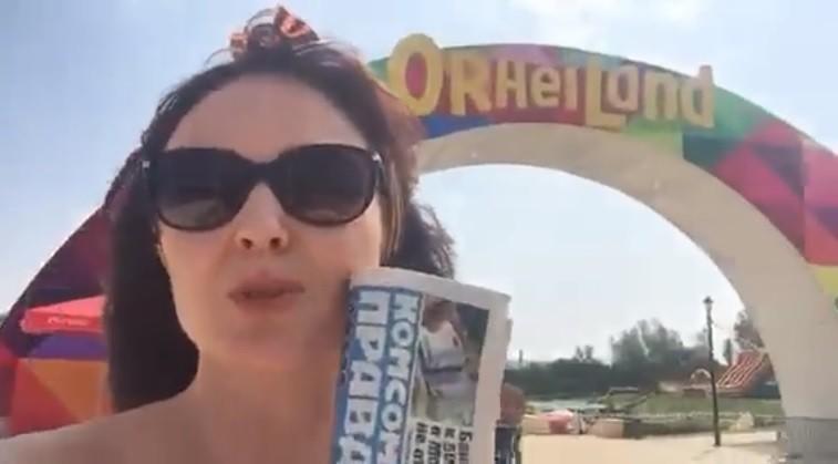 """(video) Cum să trăiești în Moldova fără griji și nevoi. Ionela Hadârcă vă invită la un nou challenge """"Be neted"""""""