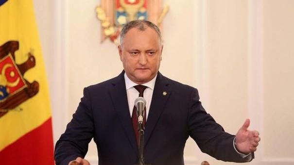 Dodon a anunțat că promulgă pachetul de legi privind politica bugetar-fiscală și amnistia de capital