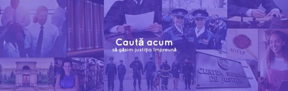 Justiția mai aproape de tine! Platforma care te ajută cu ușurință să specialiști din diferite ramuri ale domeniului justiției