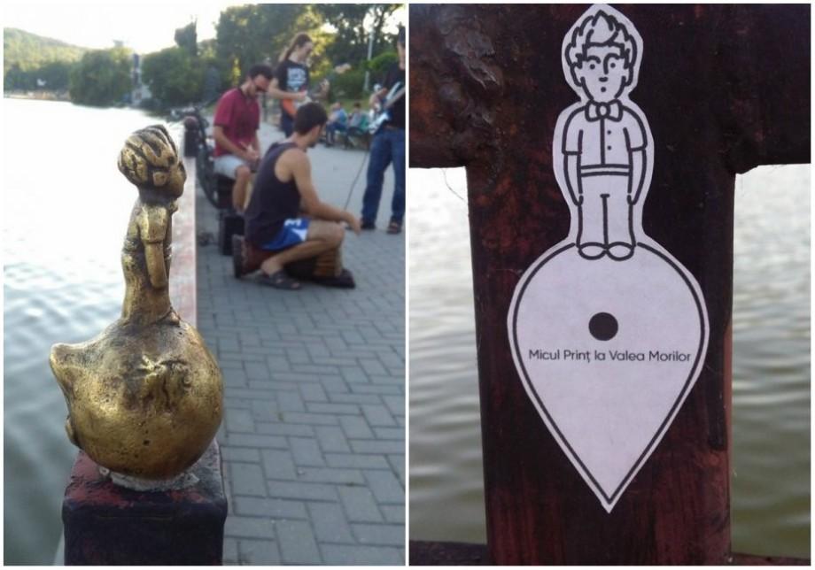 (foto) La cea de-a 23-a bilă te așteaptă Micul Prinț. Cum arată mini-monumentul instalat la Valea Morilor
