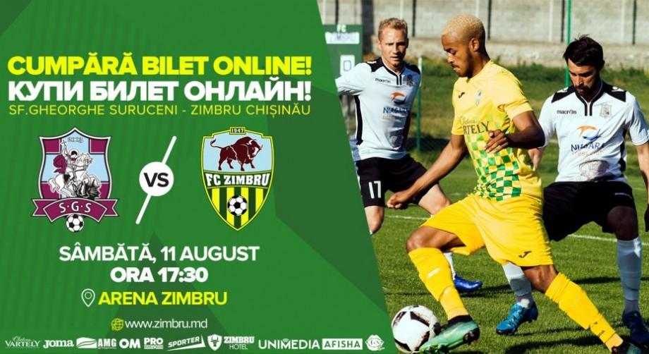 Completează-ți acest weekend cu un meci de fotbal! FC Zimbru Chișinău invită locuitorii orașului pe stadion