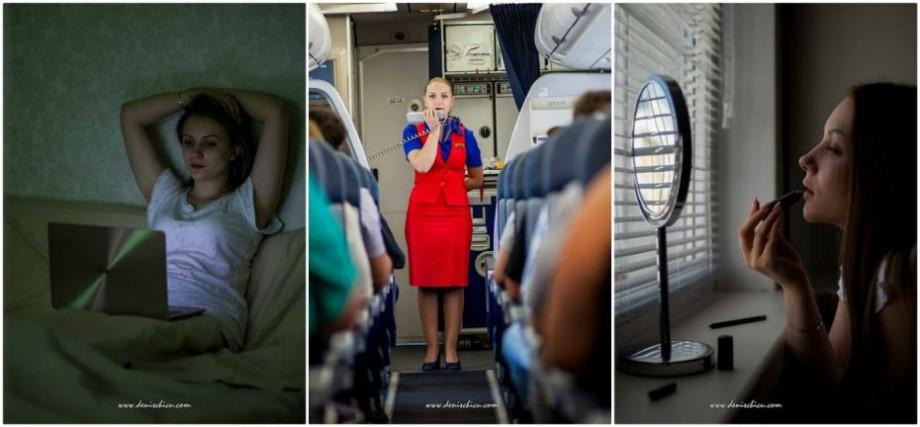(foto) Cuplați centurile, călătorie plăcută. 24 de ore din viața unei însoțitoare de bord din Moldova