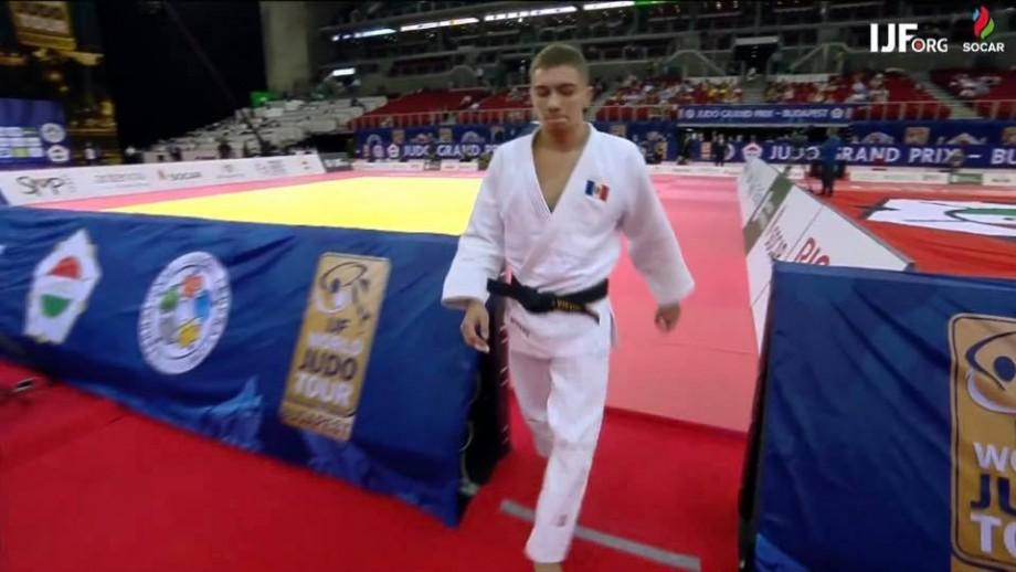 Judocanul Denis Vieru a cucerit bronzul la Grand Prix-ul de la Budapesta