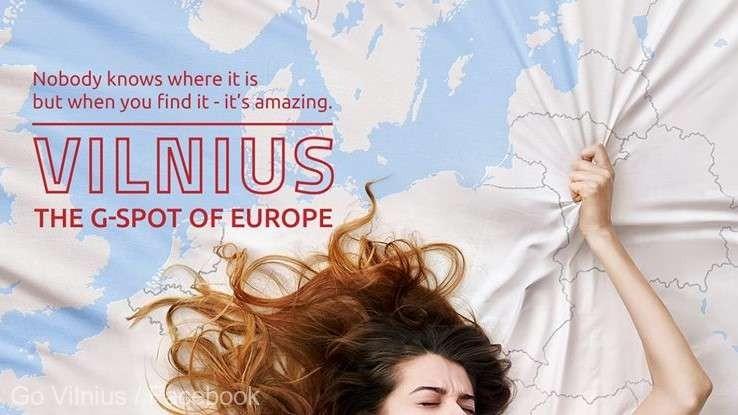 """(video) """"Vilnius, punctul G al Europei"""". Capitala Lituaniei a lansat o campanie publicitară care promite """"orgasm turistic"""" vizitatorilor"""