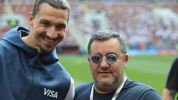 """(foto) Ironie marca Zlatan Ibrahimovic: """"Când agentul tău încearcă să stoarcă şi ultimul bănuţ de la tine"""""""