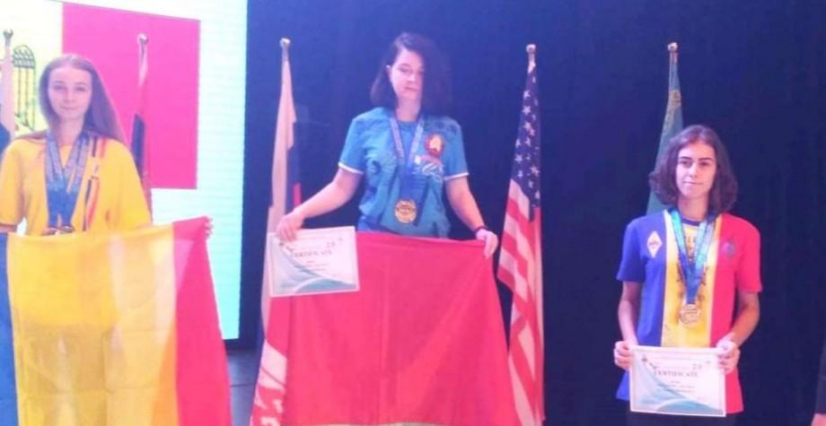 (foto) Laura-Andrea Schimbător a obținut două medalii la Campionatul Mondial de Telegrafie-viteză